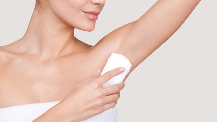 how to clean out deodorant out of clothes armpit