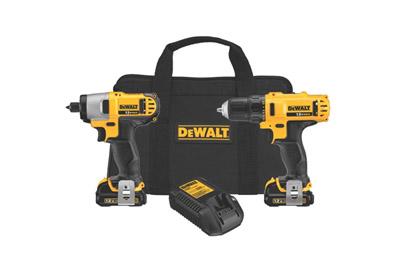 DEWALT-DCK211S2-Drill-Driver-Impact-Driver-Combo-Kit